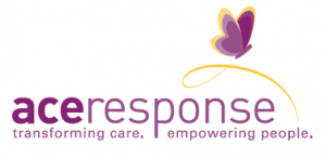 ACEs Response logo butterfly AND wording